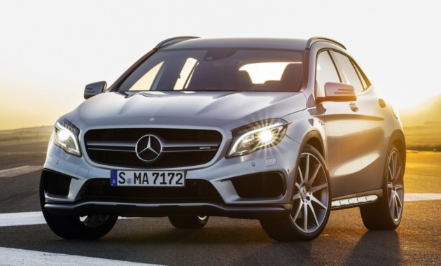 Mercedes представит обновленный маленький кроссовер