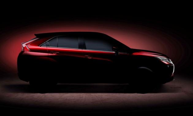 Первое официальное фото совершенного нового кроссовера Mitsubishi