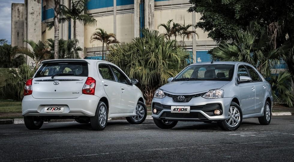 ВБразилии представлено обновлённое семейство Тойота Etios 2018 модельного года