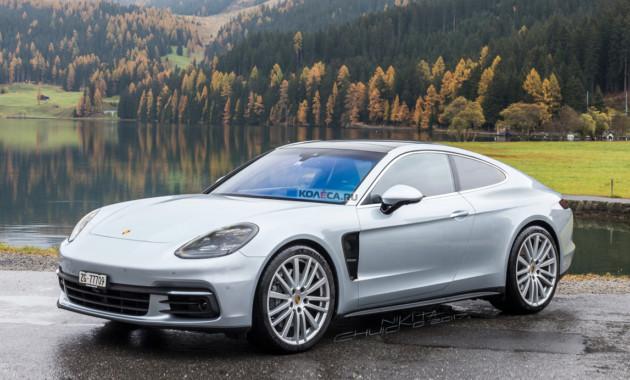Купе Porsche Panamera: первые изображения