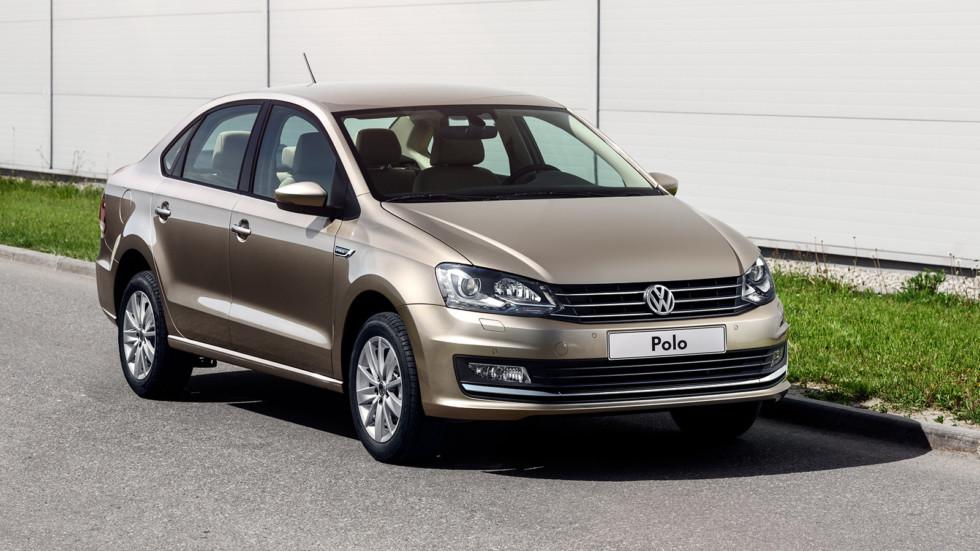 VW Polo— лидер белорусского рынка в предыдущем 2016