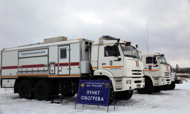 Спасатели открыли дополнительные пункты обогрева на российских трассах