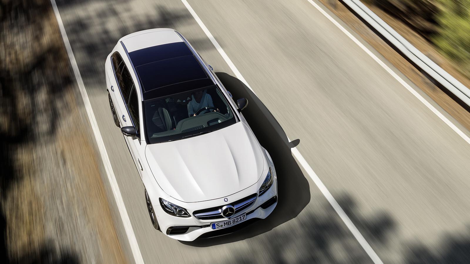 AMG анонсировала премьеру самого мощного седана E-Class Estate