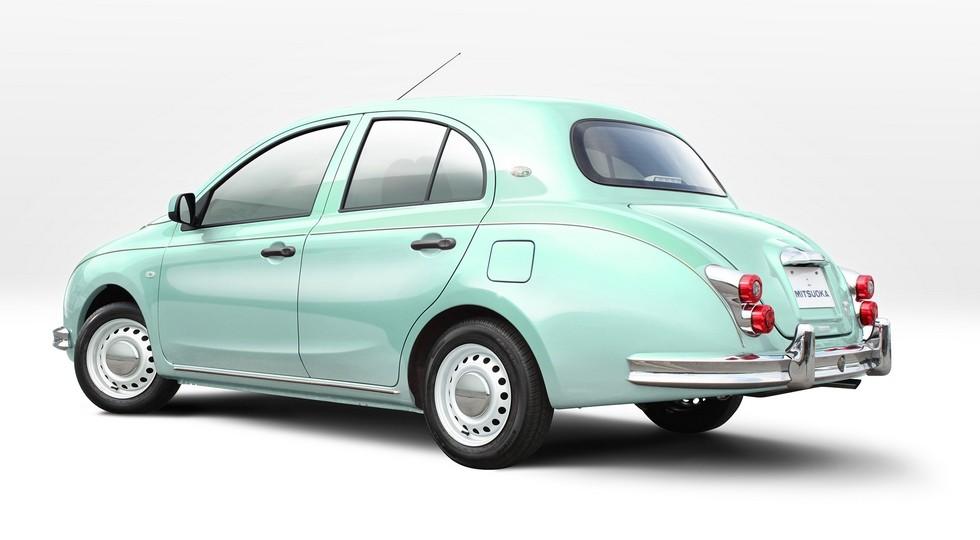 Спецверсия автомобиля Mitsuoka Viewt поступила напродажу