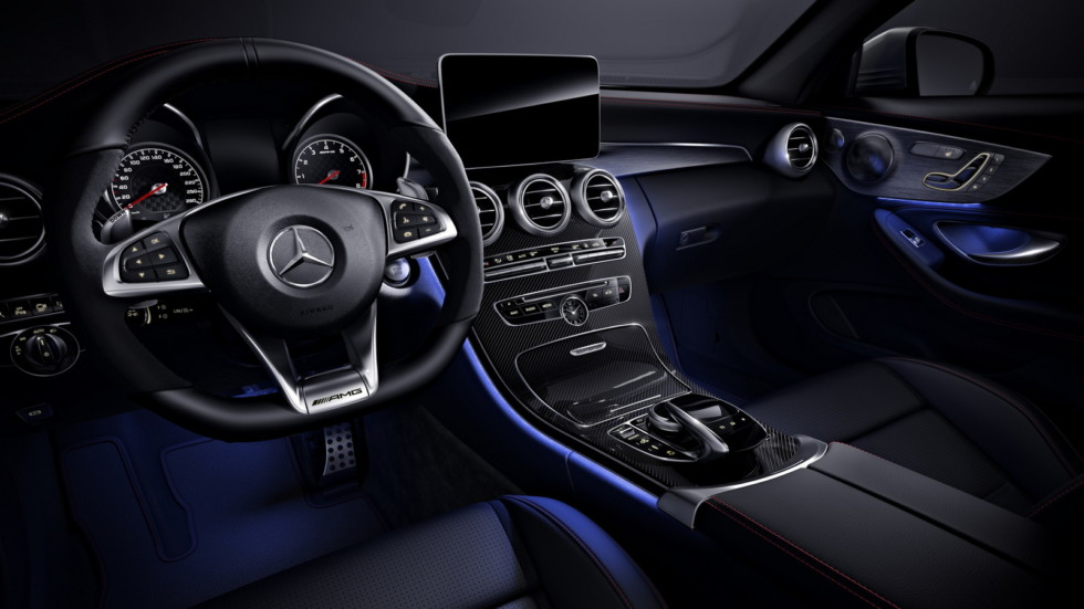 Интерьер Mercedes-AMG C 43 4MATIC Coupé Night Edition