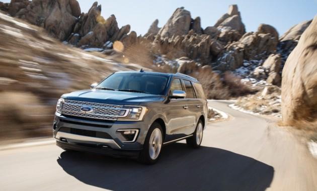Форд представил большой кроссовер Expedition свежей генерации