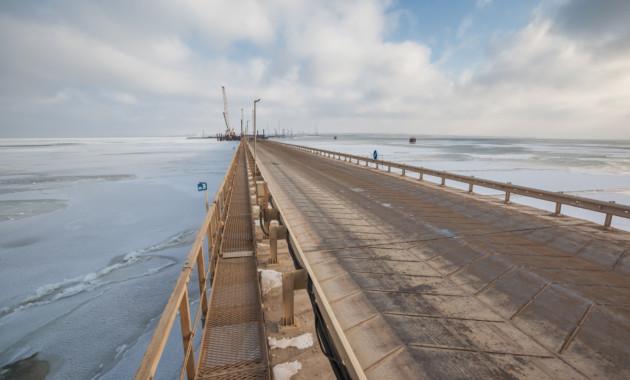 Заключен договор наобеспечение транспортной безопасности Керченского моста