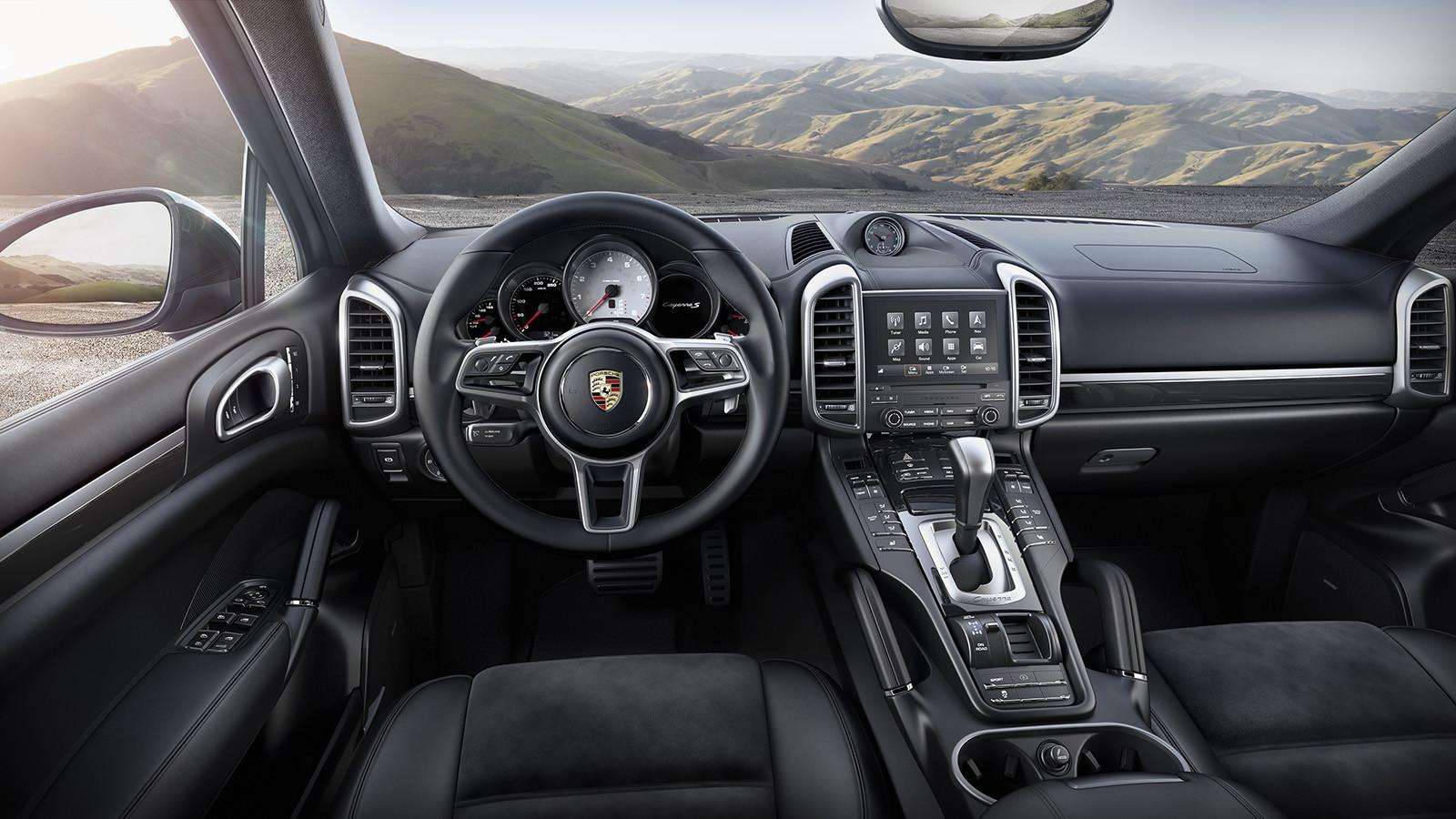 Представлен автомобиль Порше Cayenne SPlatinum для русского рынка
