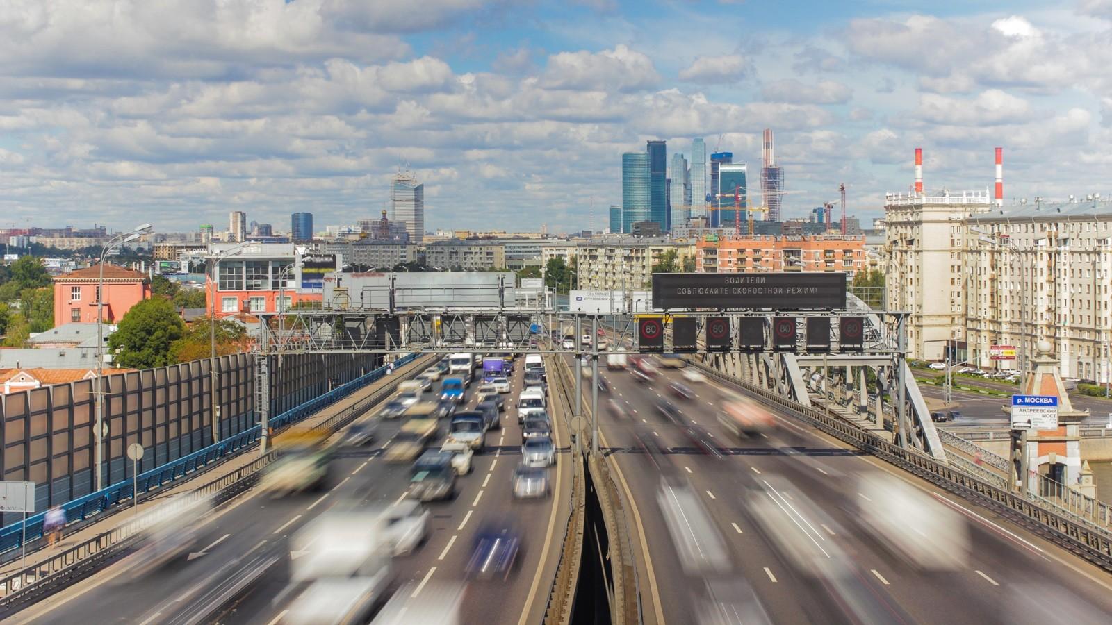 В столице России самые серьёзные пробки вевропейских странах