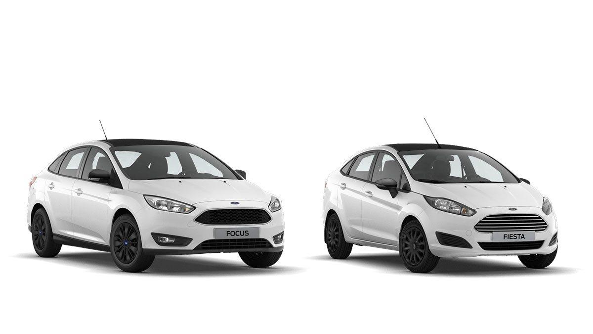 Ford focus в белом цвете