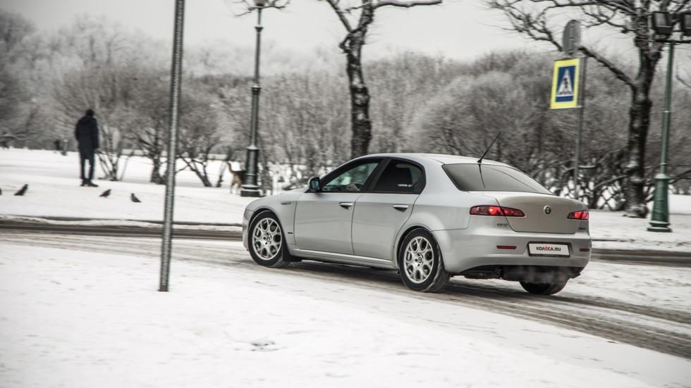 Сравнительный тест-драйв Saab 9-3 и Alfa Romeo 159