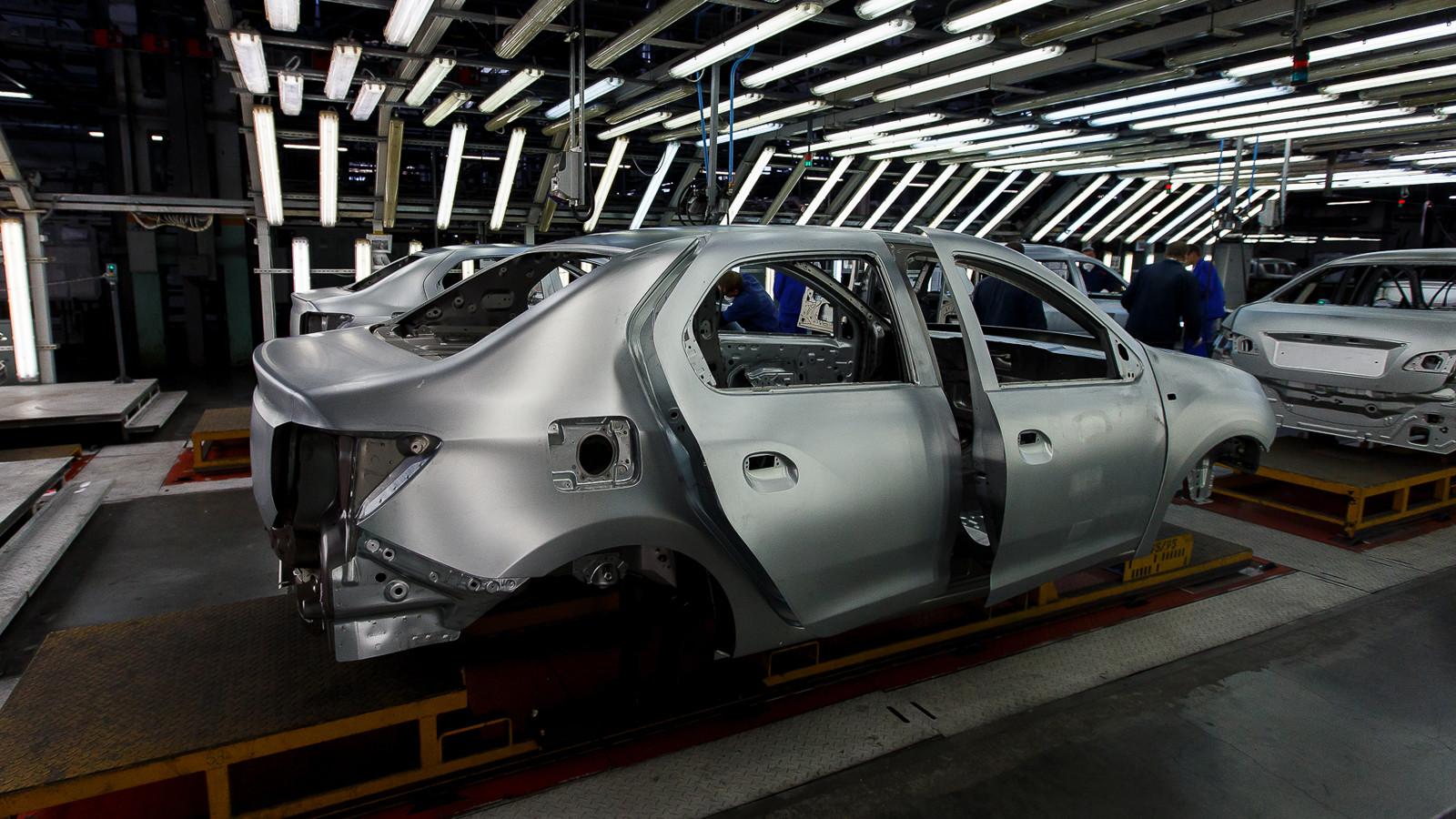 В Российской Федерации резко подскочило производство авто