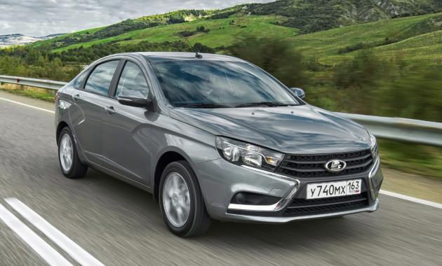 В Российской Федерации зимой данного года продажи «АвтоВАЗа» возросли на5%