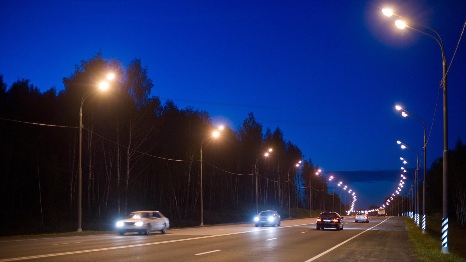 ВРФ планируют протестировать светящееся втемноте дорожное покрытие