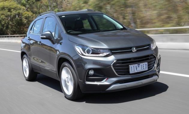 Holden Trax'2017 появился наавстралийском рынке
