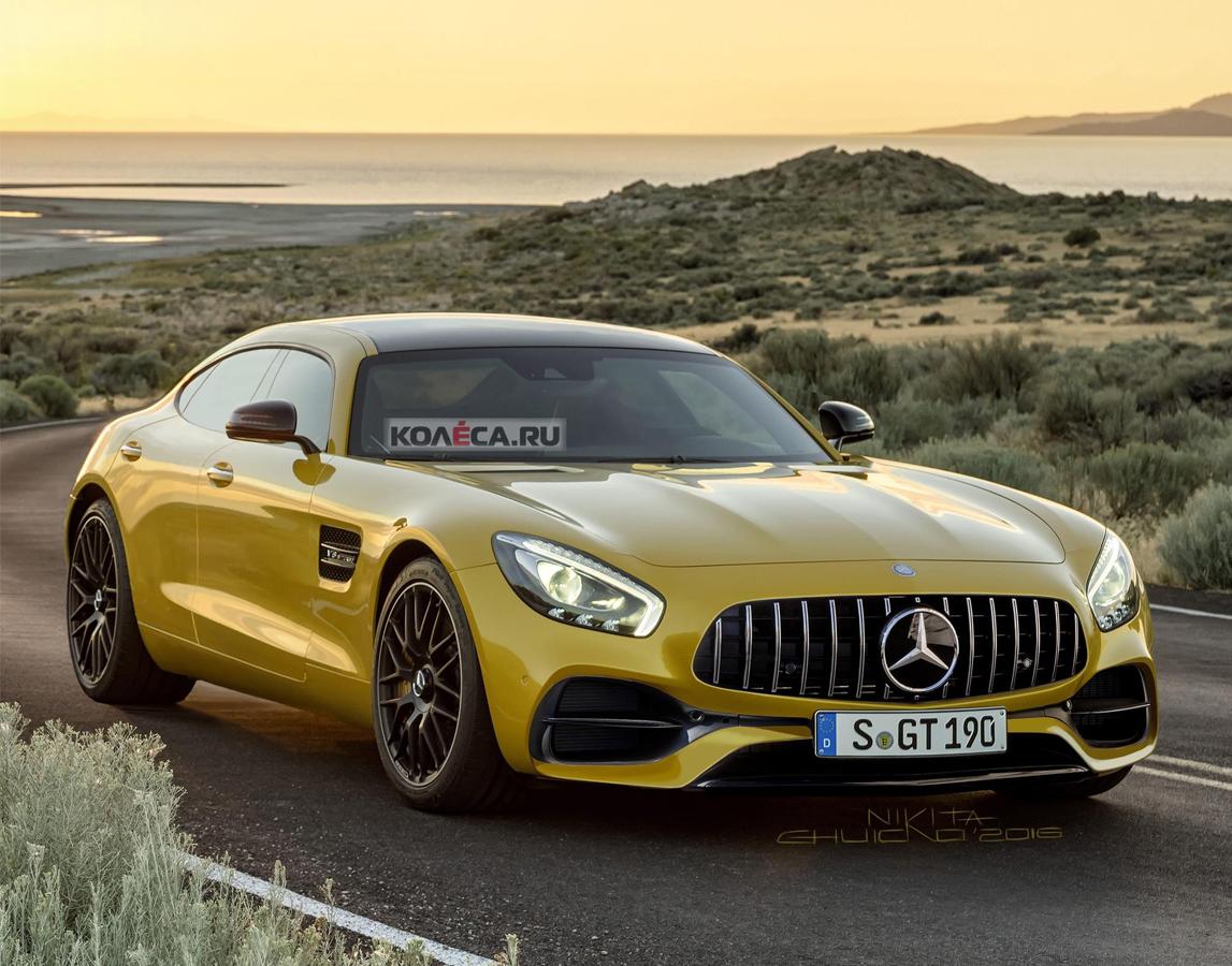 Mercedes привезет в Париж новый суперкар новые фото