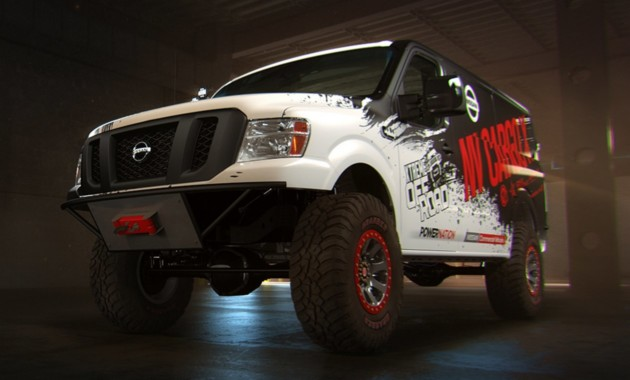 Nissan представит фургон-внедорожник