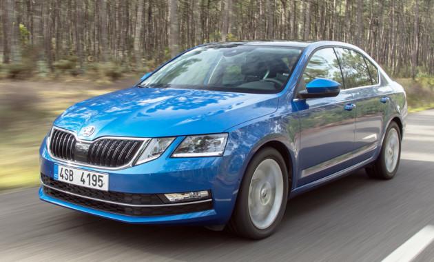 Шкода Octavia 2017 обзаведется новым бензиновым мотором