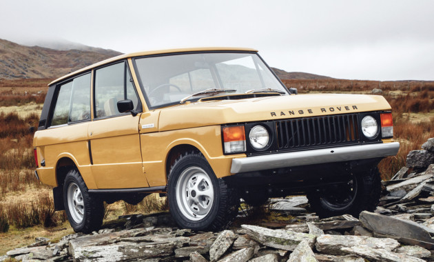 Range Rover первого поколения вновь поступят напродажу