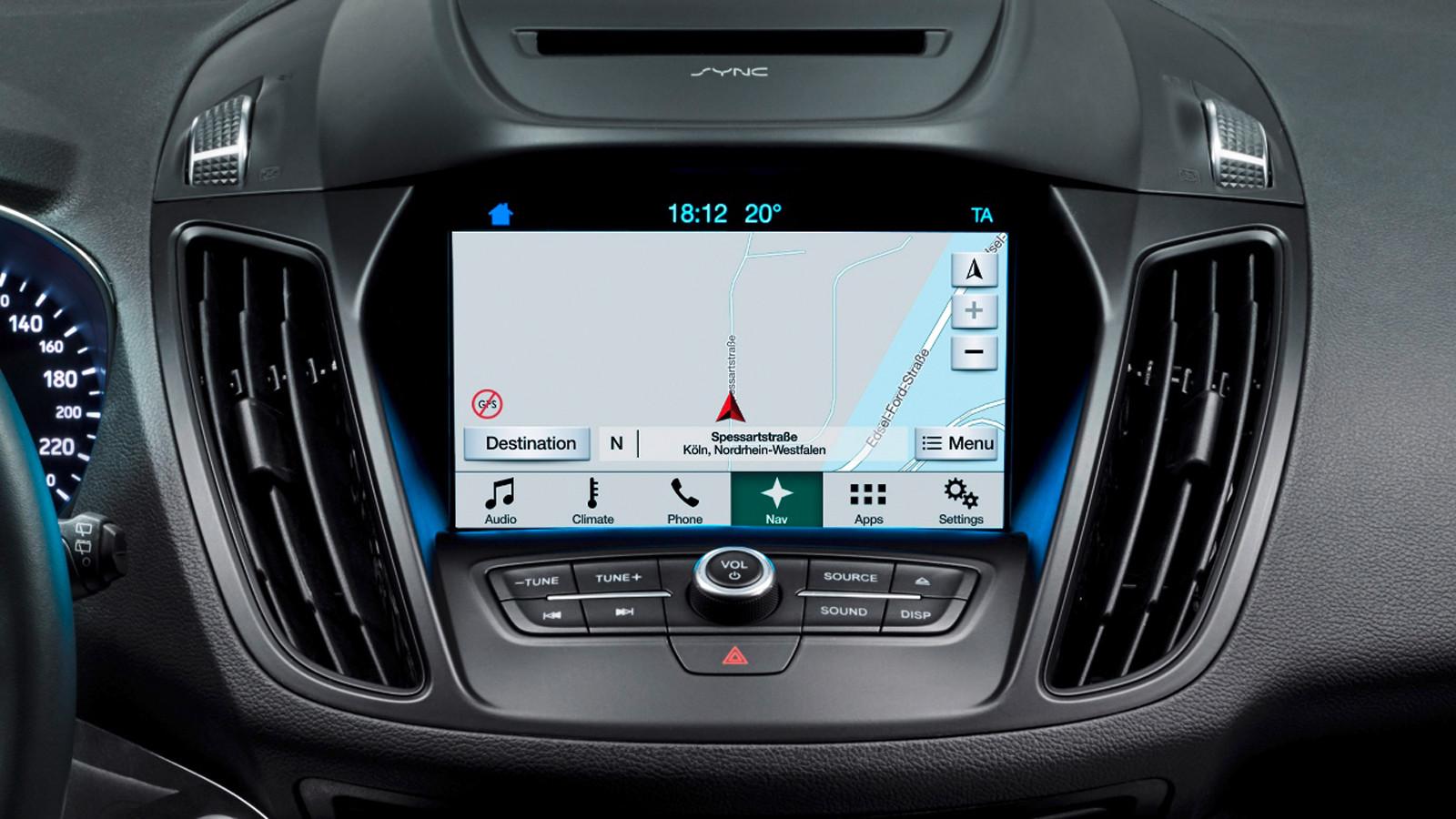 Автомобили Форд получат поддержку Wi-Fi