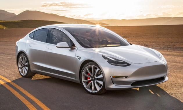 Tesla Model 3 неполучит сильной версии 100D