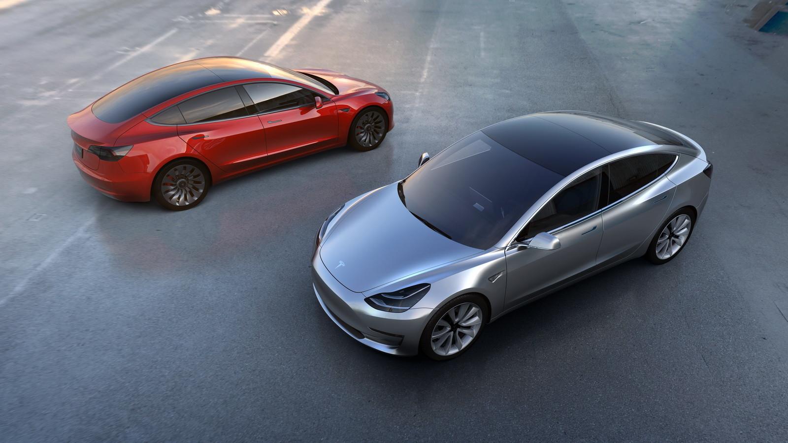 Tesla Model 3 неполучит наибольшую батарею
