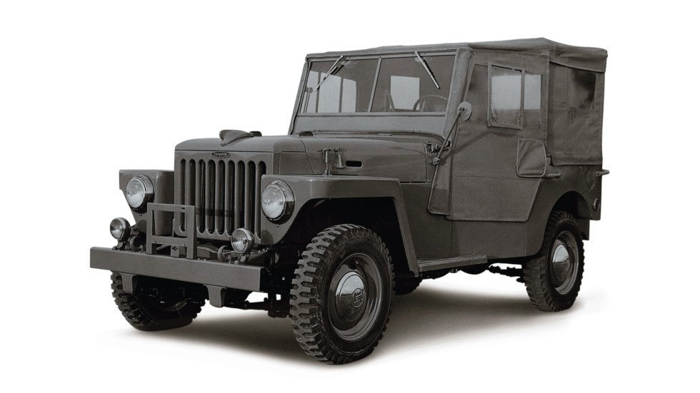 На фото: Toyota BJ Land Cruiser '1954–55