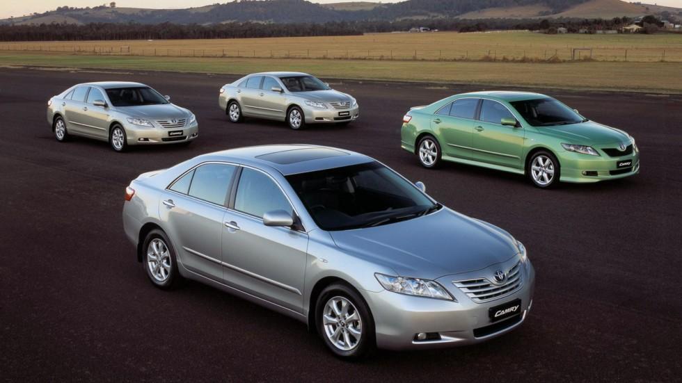 На фото: Toyota Camry (XV40) '2006–11