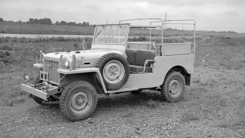 На фото: Toyota Jeep BJ '1953–54