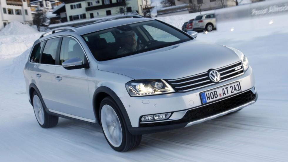 На фото: Volkswagen Passat Alltrack (B7) '2012–14