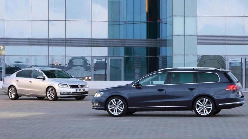 На фото: Volkswagen Passat (B7) '2010–14