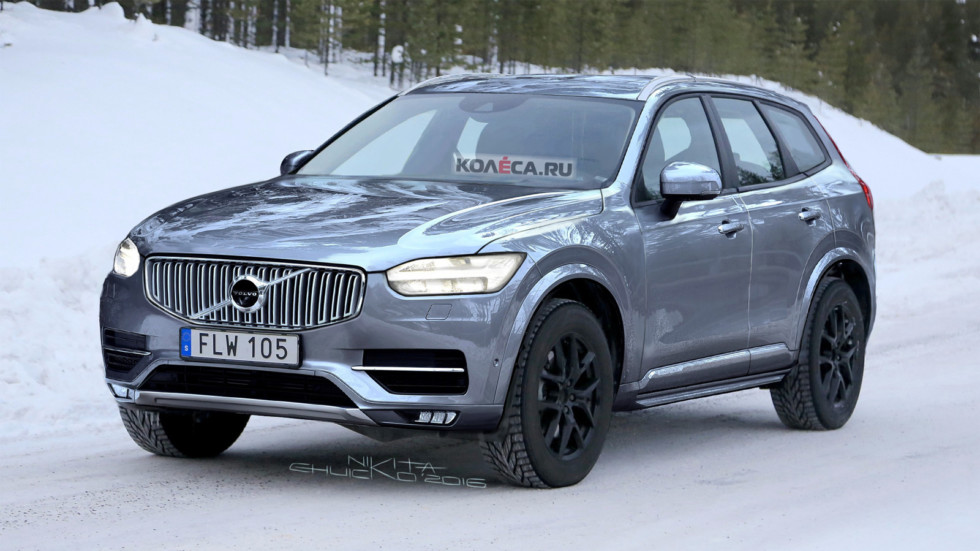 "Рендер нового Volvo XC60 от ""Колёса.ру"""