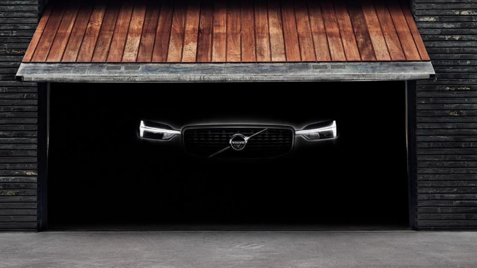 Первый тизер нового Volvo XC60