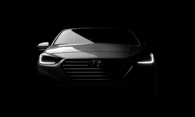 Хёндай анонсировал навидео американскую версию нового седана Solaris 2018