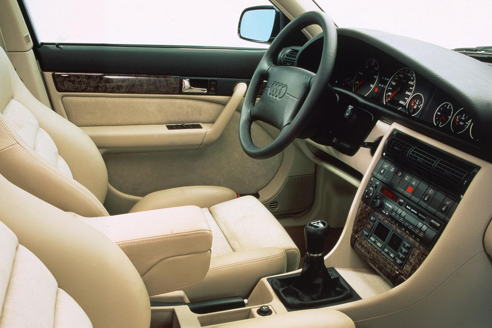 схема подвески и рулевого управления audi b4