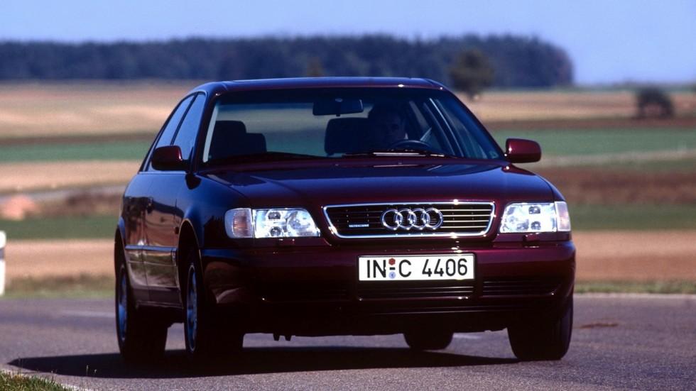 На фото: Audi A6 quattro C4 1994–97