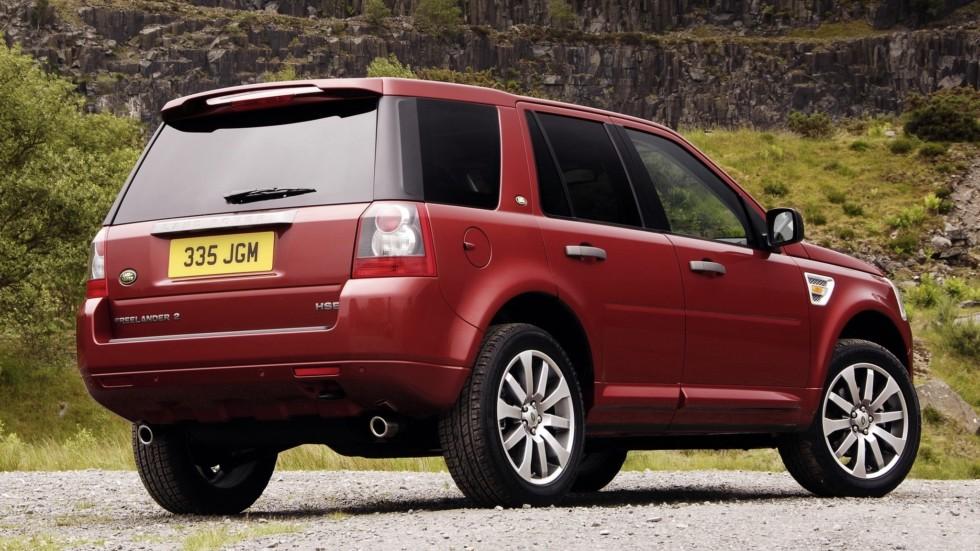На фото: Land Rover Freelander II