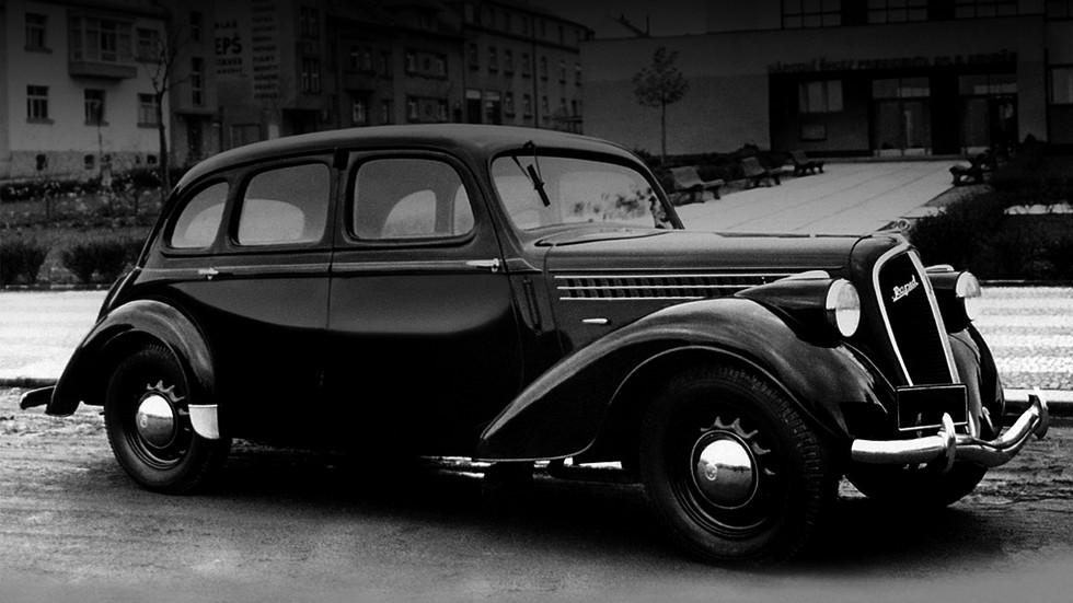 На фото: Skoda Rapid OHV '1938–47