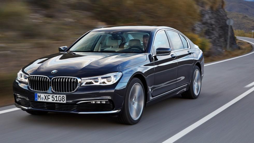 На фото: BMW 7 Series