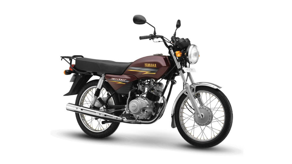 На фото: Yamaha Crux для индийского рынка