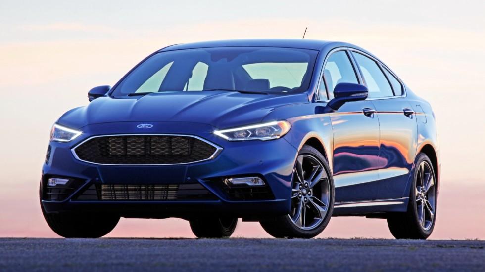 На фото: Ford Fusion