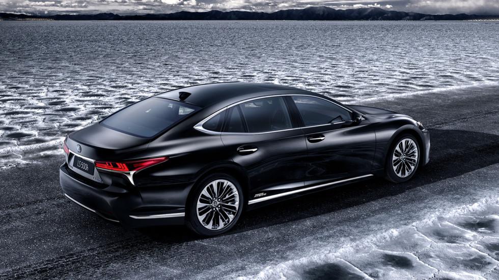 Гибридный Lexus LS представят в Женеве