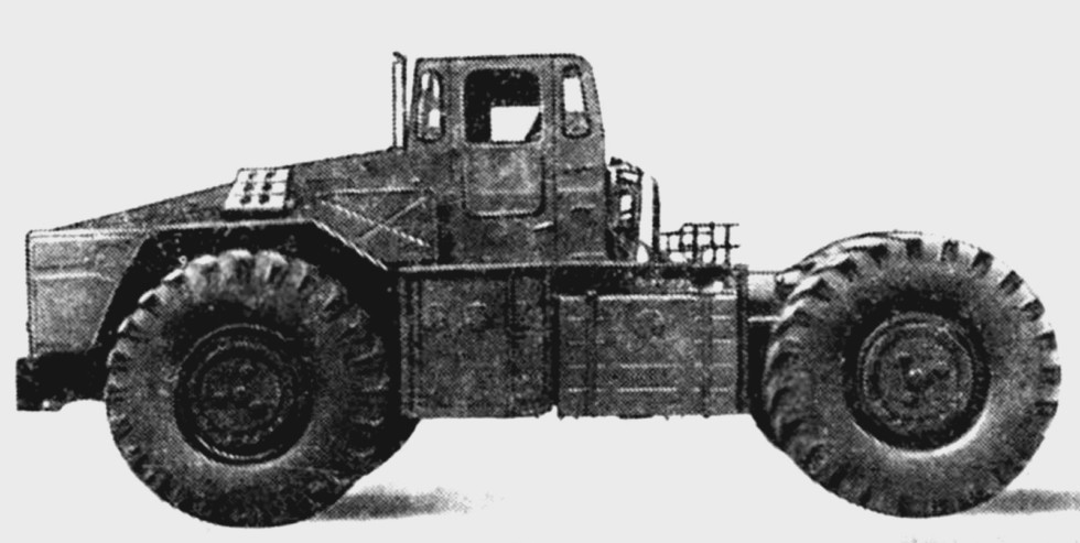 Длиннобазное шасси КЗКТ-538ДП для монтажа пассивного оборудования