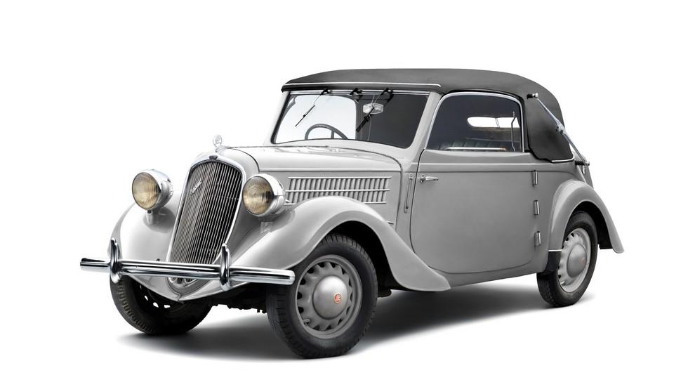 На фото: Skoda Rapid Convertible '1935–38