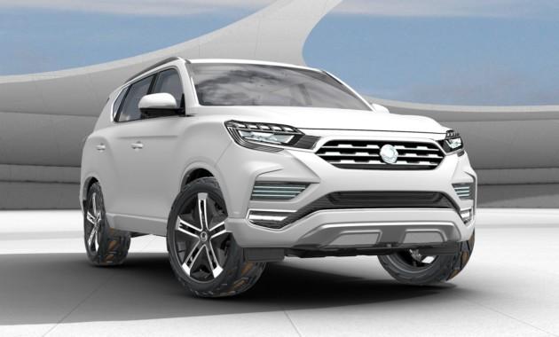 Новый серийный вседорожный автомобиль Сан Ёнг могут представить весной