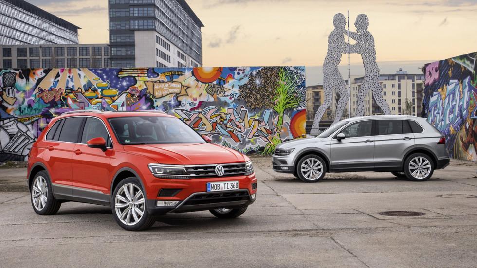 Volkswagen Tiguan уже можно купить в России