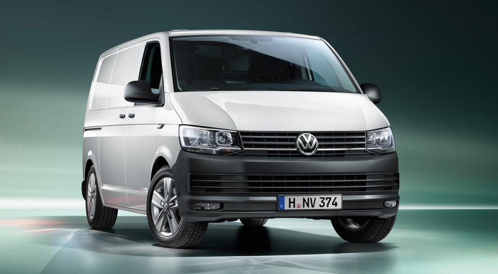 На фото: Volkswagen Transporter