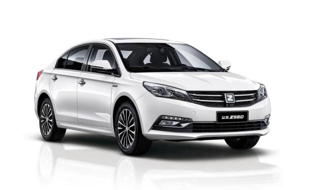 Zotye официально рассекретила новый бизнес-седан Z560