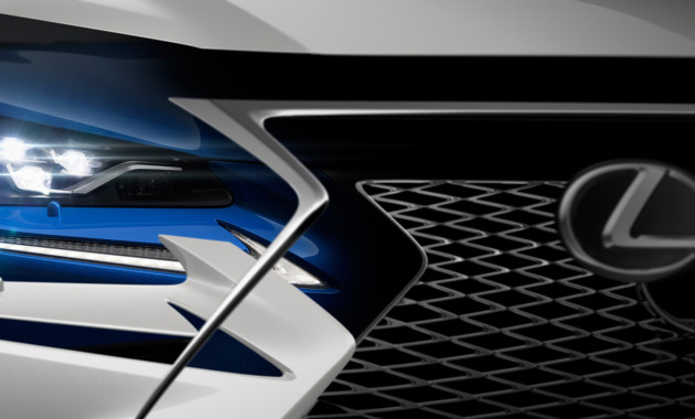 Лексус представит улучшенный кроссоверNX на автомобильном салоне вШанхае