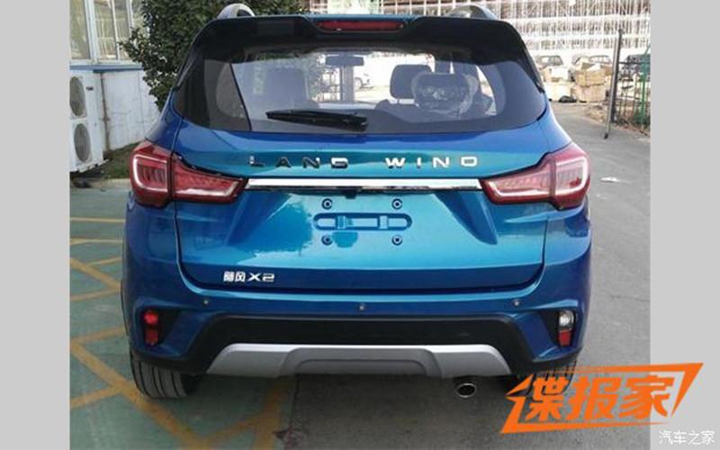 Китайский клон Лада XRay продемонстрируют вПоднебесной